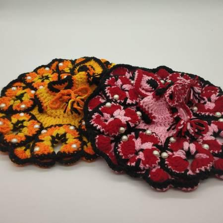 Buy Laddu Gopal Ji Orange - Yellow and Red - Pink Color 0