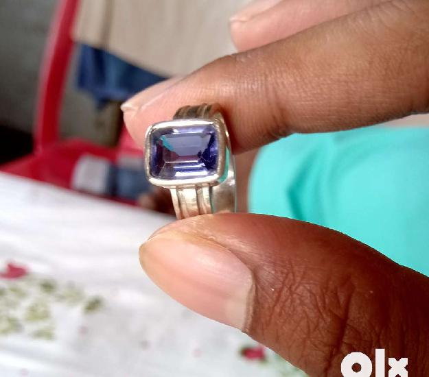 Neeli (Iolite) gemstone ring 0