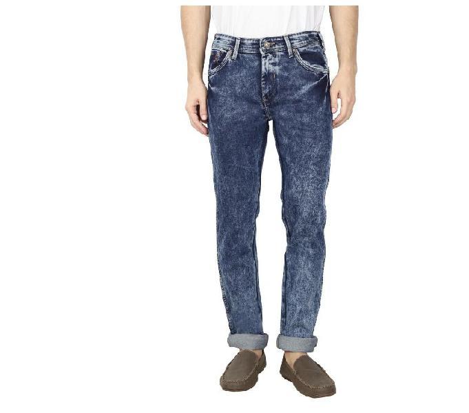RAA JEANS Men Denim Lycra Blue Jeans 0