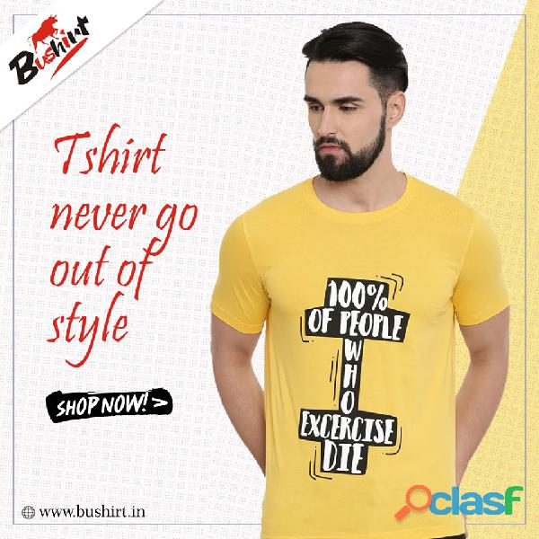 Trendy And Quality Graphic T Shirts In India   Bushirt.in 1