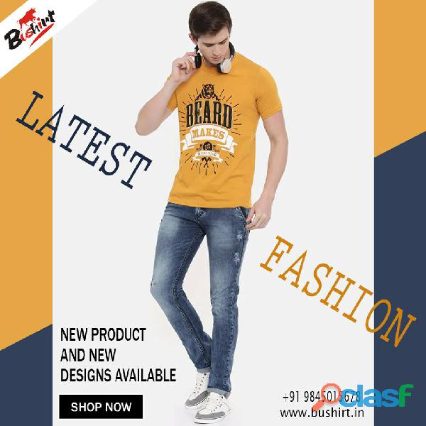 Trendy And Quality Graphic T Shirts In India   Bushirt.in 2