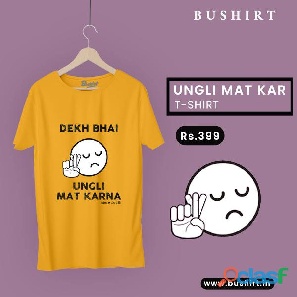 Trendy And Quality Graphic T Shirts In India   Bushirt.in 5