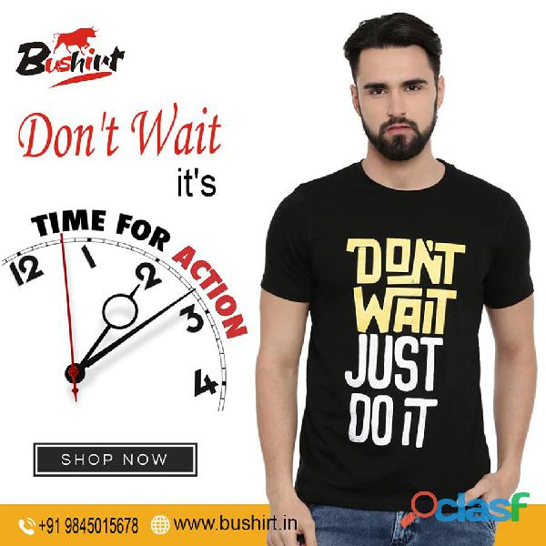 Trendy And Quality Graphic T Shirts In India   Bushirt.in 6