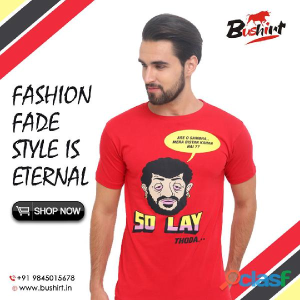 Trendy And Quality Graphic T Shirts In India   Bushirt.in 8