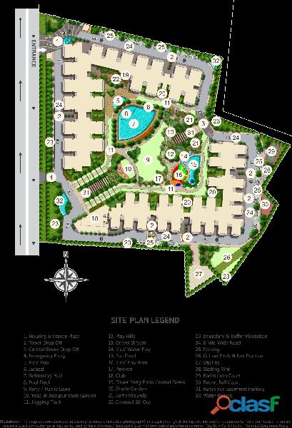 Azea Botanica – Luxury 3&4BHK at 65 Lacs Onwards 1
