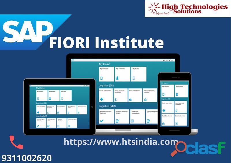 Get Leading SAP FIORI Training Institute 0