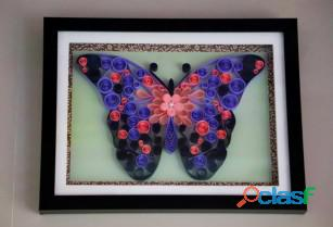 Wedding gifts for home decor Abstract Butterfly art work Aadhi Creation 0