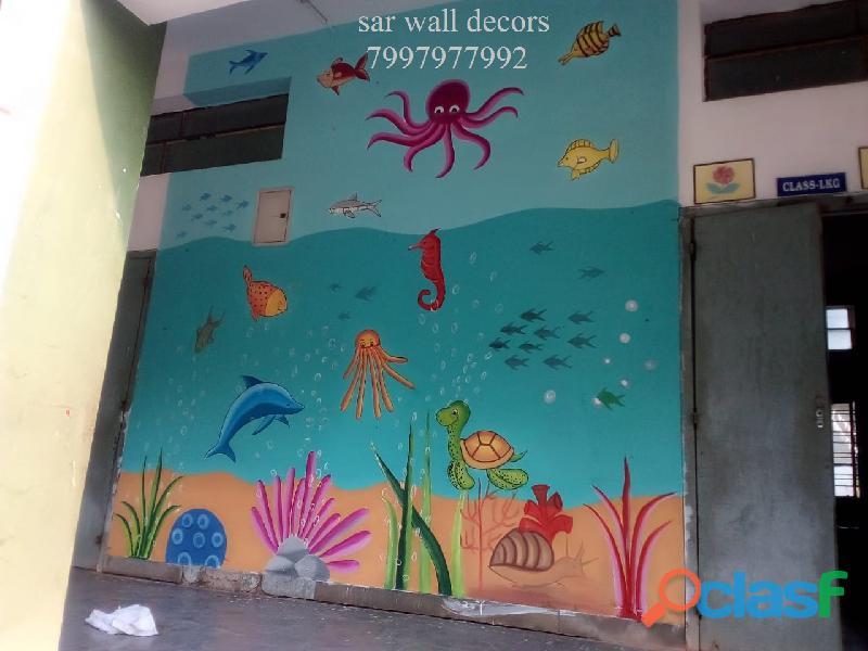 Nursery School Art work images in Hyderabad 2