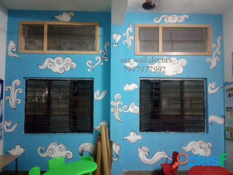 Nursery School Art work images in Hyderabad 1