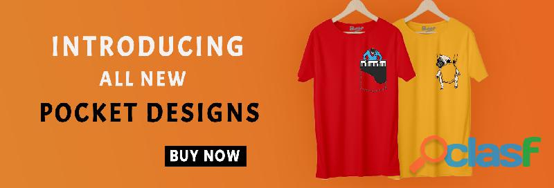 Best Designing Funky Graphic Tees For Men online In India   Bushirt 0