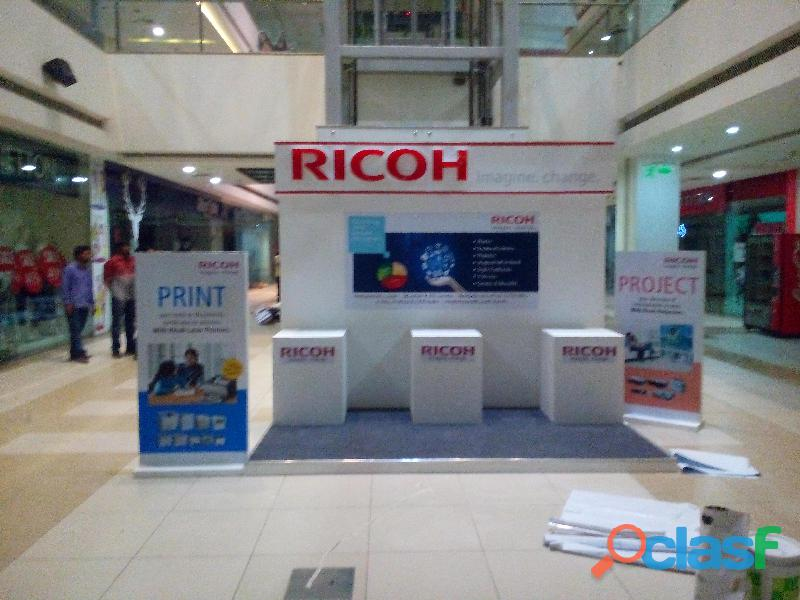 Exhibitions & Stall fabrication work