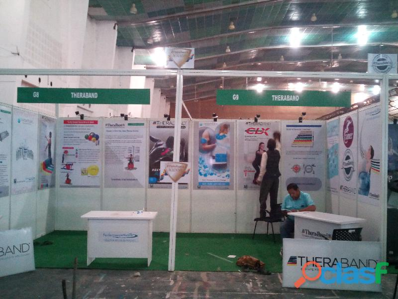 Exhibitions & Stall fabrication work 1