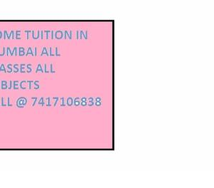 Home Tuition Service at your place
