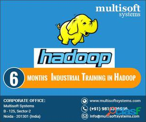 6 month industrial training in hadoop