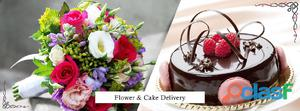Get flowers and cakes delivery in bangalore