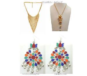 Fedexo handicraft antique combo necklace, earring.