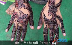 Best mehndi artist in delhi anuj mehandi art