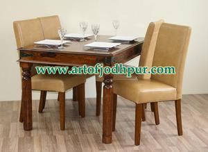 Jodhpur handicrafts sheesham wood online dining sets