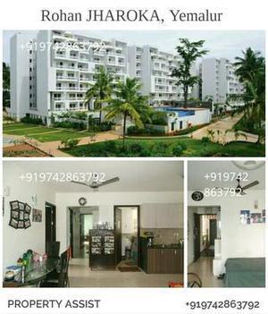Rohan jharoka: 3 bhk semi furnished east facing pool view