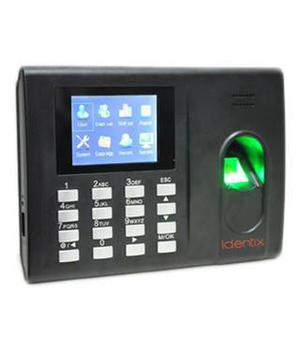 Time attendance machine with battery backup