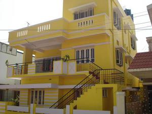 North facing first floor house for rent in siddhartha layout