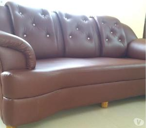 3 seater leather sofa just like new