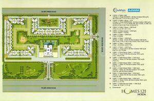 3bhk apartment ajnara gulshan homes 121, sector 121, noida