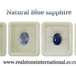 Blue sapphire gemstone fair price at realstone rajgarh