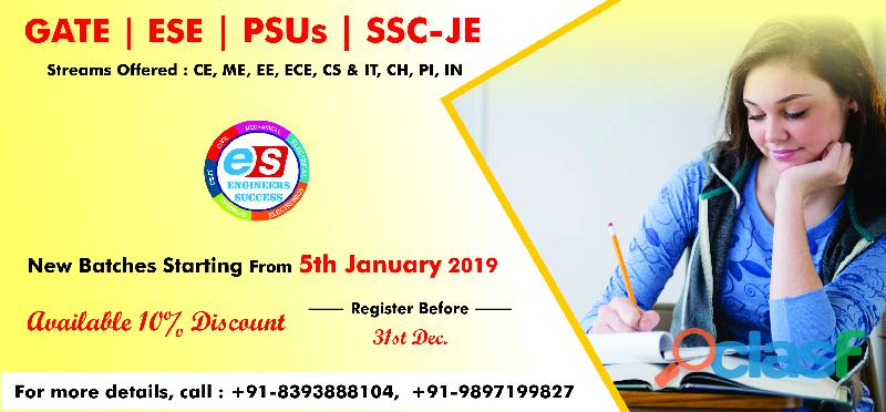 Best gate,psus,ese coaching institute in dehradun engineers success