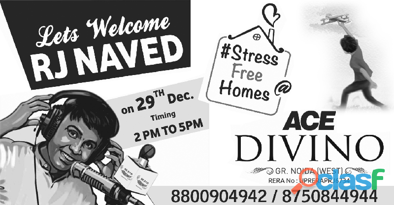 Book now! 2 bhk stress free homes @ ace divino noida extension : 8800 904 942