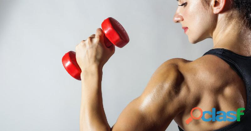 Increases the muscle growth hormone in the body
