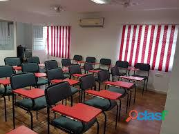 Sale of commercial property with educational institute tenant in vijaynagar colony area 432yards/14