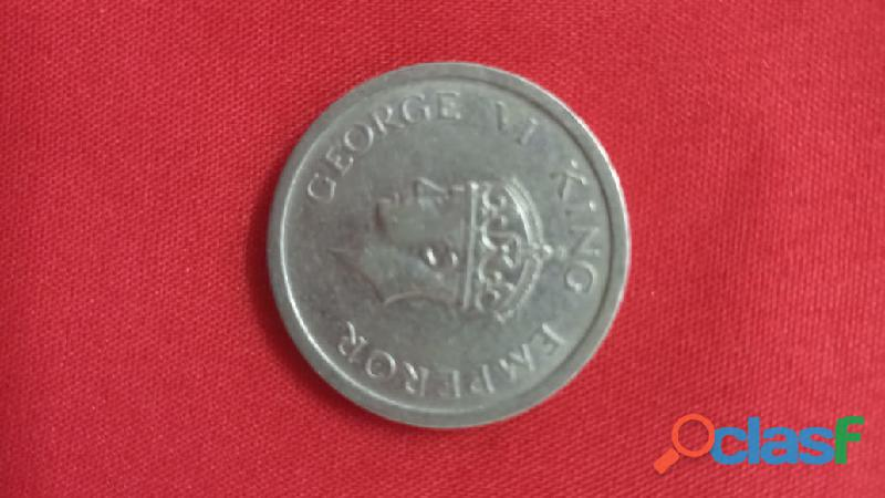 1947 one rupees old coin.