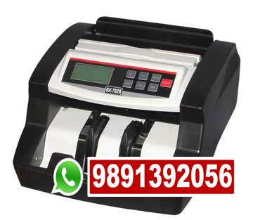 Note counting machine supplier in rajendra place