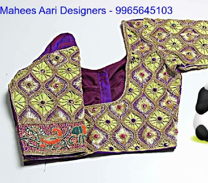 All types of aari works and womens stitching
