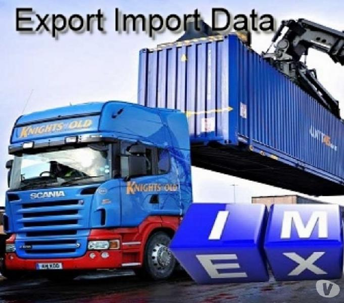 Collect detailed shipping records of pigment export data