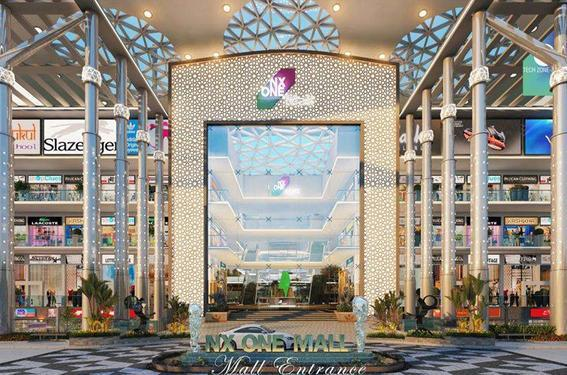 Office space available in nx one in noida extension 9711836