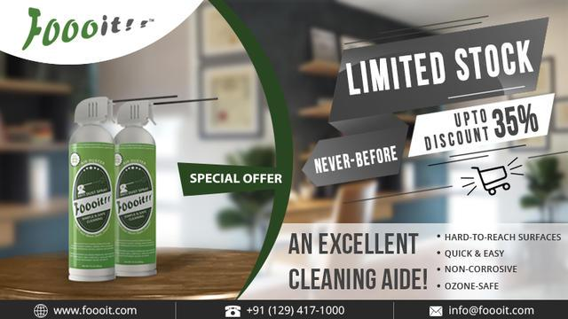 Affordable dust cleaner for electronic appliances
