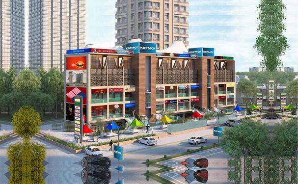 Commercial spaces are available in raj nagar