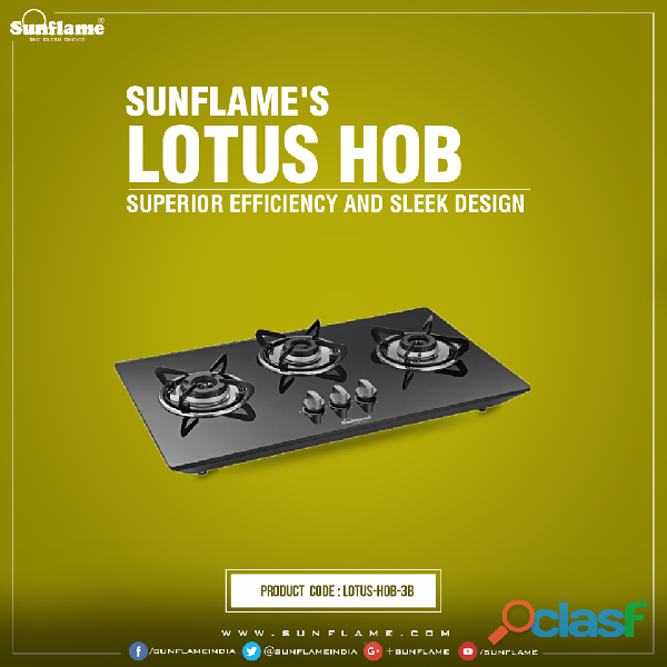 Best Quality Designer Hobs from Sunflame