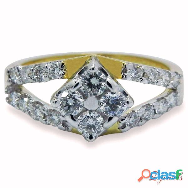 Diamond Ladies Ring Carib