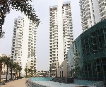 M3m merlin luxury apartments in high rise towers
