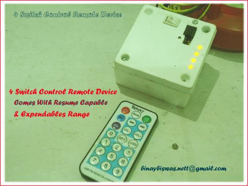 Remote system for home appliances in low cost 1 year warra