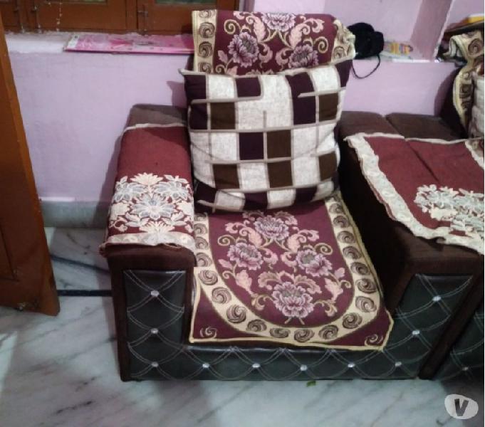 Brand new used fabric sofa set 3+1+1