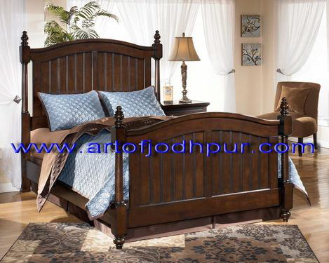 Double bed bedroom furniture online