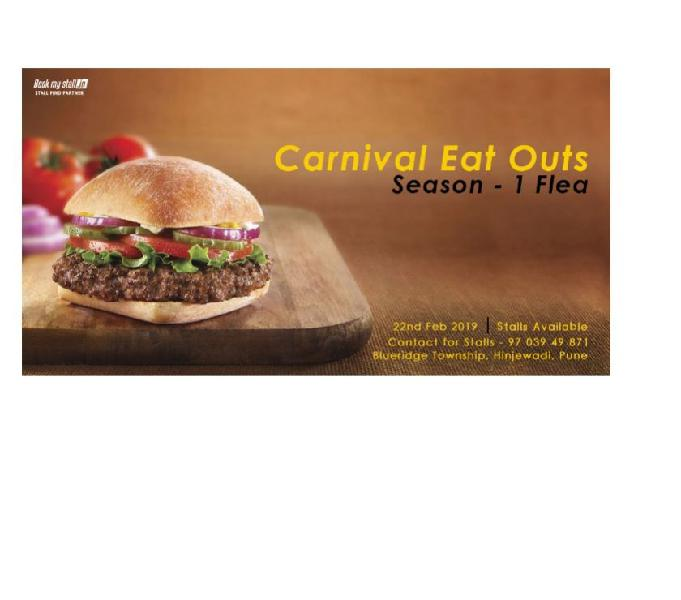 Carnival eat outs season 1 flea at pune - bookmystall