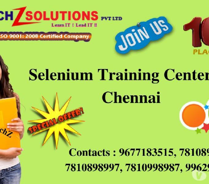 Best selenium training center in chennai | velachery