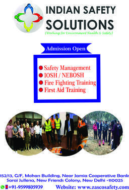 Safety management courses in delhi