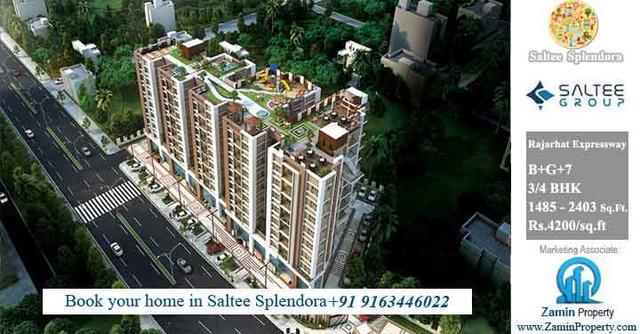 Booking open 3 or 4 bhk apartments rajarhat expressway
