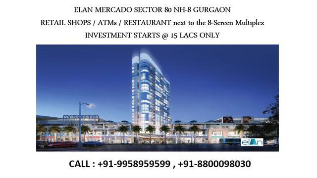 Elan mercado 1 bhk apartment elan 1 bhk serviced apartments